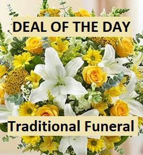 Deal of the Day Traditional Funeral in Ventura, CA | Mom And Pop Flower Shop