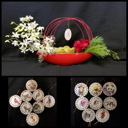 Dean Crouser Ornament Elegance  Arrangement