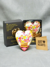Dear Mom I love you Art Heart gift item