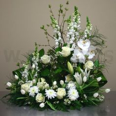 dearest loved one urn arrangement in Lebanon, NH | LEBANON GARDEN OF EDEN FLORAL SHOP