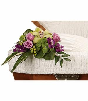 Dearest Memory Casket Insert in Prairie Grove, AR | FLOWERS-N-FRIENDS