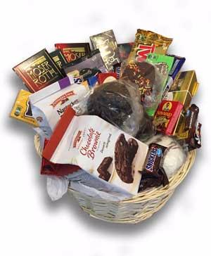 Death by Chocolate Custom Chocolate Basket