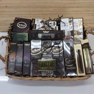 DeBrand Chocolate Dream  Premium Chocolate Basket  in Troy, MI | DELLA'S MAPLE LANE FLORIST