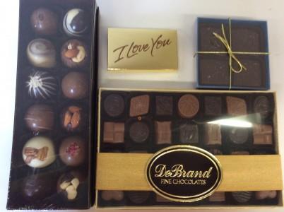 DeBrand Chocolate Indulgence Fine Chocolate Assortment