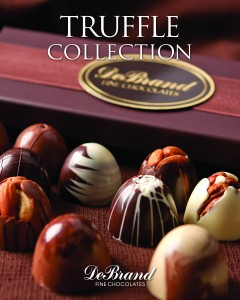 DeBrand Fine Chocolates Truffle Collection