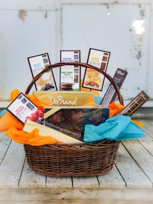 DeBrand's Chocolate Gift Basket  in Warsaw, IN | ANDERSON FLORIST & GREENHOUSE
