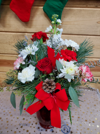 December Designers Choice Arrangement