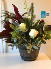 December Rose Sympathy Flowers