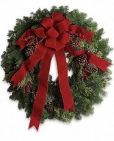 Deck The Halls Fresh Wreath