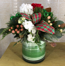 Deck the Halls Holiday Centerpiece