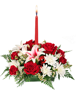 DECK THE HALLS Holiday Centerpiece in Orleans, ON | SELECT BLOOMS FLORAL BOUTIQUE