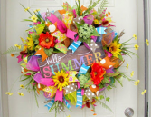 Deco Mesh Wreaths Please Call 817-244-2345