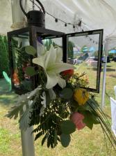 Decor ideas Floral lantern with led lights