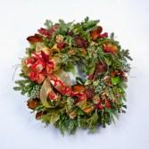 Decorated Christmas Wreath Christmas Wreath