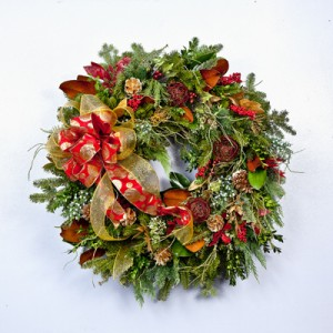 Decorated Christmas Wreath Christmas Wreath