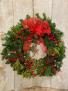 Decorated Wreath Outdoor Wreath