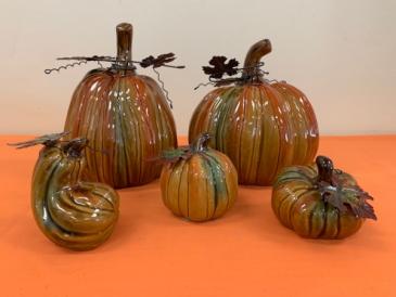Decorative Ceramic Pumpkins Fall Product