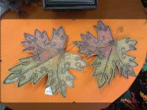 Decorative Metal Leaf Gift Item
