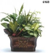 Decorative Metal Planter