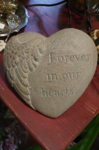 """Decorative Stone$18.00  poly stone 7""""x 7"""""""