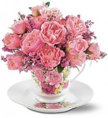 Decorative Teacup of Roses