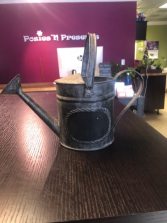 Decorative Watering Can Gift Item