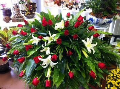 Dedication of Love Funeral Flowers