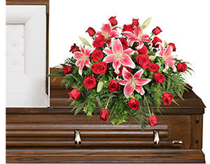 DEDICATION OF LOVE Funeral Flowers in Franklin, IN | BUD AND BLOOM SOUTH INC.