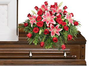 DEDICATION OF LOVE Funeral Flowers in Mooresville, IN | BUD AND BLOOM FLORIST AND GIFTS