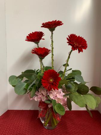 Deep Affection Flower Arrangement