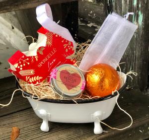 Deep Breath Spa Set Gift Set in Key West, FL | Petals & Vines