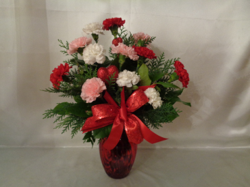 Deep Desire Vase Arrangement