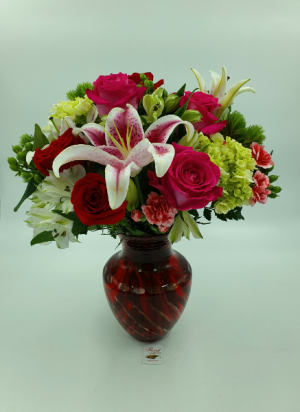 Deep Devotion       BEST SELLER  in Sunrise, FL | FLORIST24HRS.COM