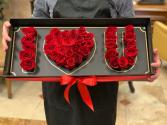 Deep LOVE Rose box Deep LOVE Rose box