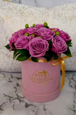 Deep Purple Roses  in Delray Beach, FL | Greensical Flowers Gifts & Decor