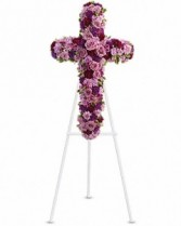 Lavender Faith Standing Spray
