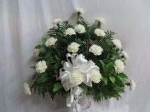Loving Thoughts Fresh Funeral Basket