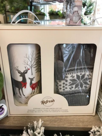 Deer Cup w/ Gloves Set