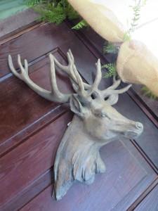 Deer Head Wall Hanging Decorative Item in Farmville, VA | CARTERS FLOWER SHOP