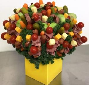 Deli-iscious Edible Bouquet - Please give us 24 hr notice in Springfield, IL | FLOWERS BY MARY LOU INC