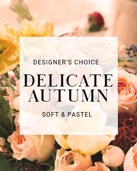 Delicate Autumn Soft & Pastel Arrangement