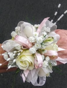 Delicate Blooms Sweetheart Rose Corsage in Jacksonville, FL | TURNER ACE FLORIST