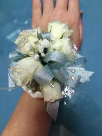 Delicate Blue  Wristlet