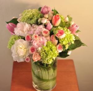 DELICATE DELIGHT Vase Arrangement in Longview, TX | ANN'S PETALS