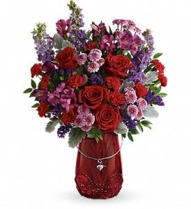 Delicate Hearts Bouquet