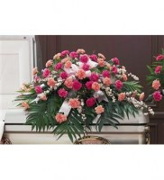 Delicate Pink Casket Spray Casket Spray