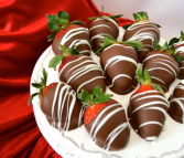 DELICIOUS CHOCOLATE COVERED STRAWBERIES STRAWBERRIES