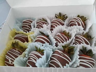 Delicious Chocolate Covered Strawberries