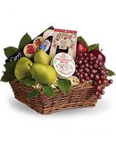 Delicious Delights Basket Fruit Basket