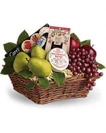 Delicious Delights Basket Fruit Basket